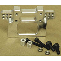 Fast Lane Machine Nitro Rustler 2.5 Rear Bulkhead, Machined Aluminum