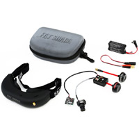 Fat Shark RC Vision Systems Fat Shark Attitude V2 Fcc Certified Bundle
