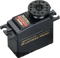 Futaba Servo-Digital Bls351 Hi-Speed Brushless, 217 Oz, .13 Sec.