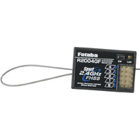Futaba 2.4 GHz R2004GF Receiver, 4 channel FHSS for 3PL