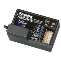 Futaba 2.4 Ghz Fasst R603FS Receiver for 3PK, 4PK, 4PKS