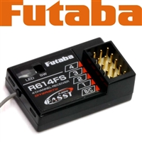 Futaba 2.4 Ghz Fasst R614fs Receiver For 4pks