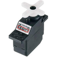 Futaba Micro Digital Hi-Torque Mg S3156 Servo-33 Oz/In @.11 Sec