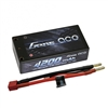 Gens Ace 4200mAh 60C 7.4V 2S Shorty Lipo Battery with 4mm Bullet Connectors