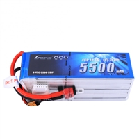 Gens Ace 5500mAh 5S 45C 18.5V Lipo Battery Pack with WSDeans Plug