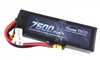 Gens Ace 7600mAh 50C 7.4V 2S Lipo Battery with XT60 plug and Traxxas Adapter