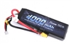 Gens Ace 4000mAh 50C 11.1V 3S Lipo Battery with XT60  plug and Traxxas Adapter