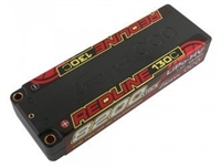 Gens Ace Redline 8200mAh 130C 7.6V 2S HV Lipo Battery with 5mm bullets