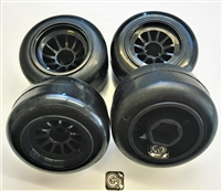 Gravity RC G-Spec F1 Tires On Black Rims (4)