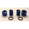 Gravity RC Body Height Adjustment System For 1/12, 5mm Blue (2)