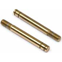 Hot Bodies Cyclone Wc Ed. Titanium Coated Shock Shafts, 28mm (2)