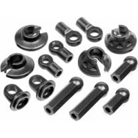 Hot Bodies Cyclone D4/Cyber 10 Shock Parts/Rod End Set