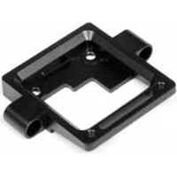 Hot Bodies Cyclone D4 Front Suspension Mount, Black Aluminum