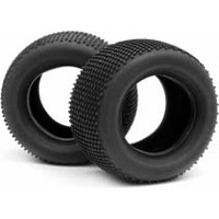 Hot Bodies Lightning Stadium Pro Diamond Back Tires, Med. (2)
