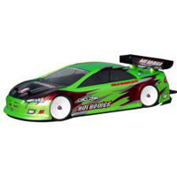 Hot Bodies Moore Speed Dodge Stratus Body 190mm, Clear Lexan