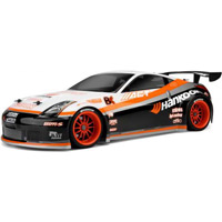 HPI Nissan 350z Hankook Clear Body, Requires Painting, 200mm