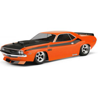HPI 1970 Dodge Challenger Clear Vintage Body-200mm,  Unpainted