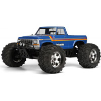 HPI 1979 Ford F150 Clear Body- Requires Painting