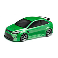 HPI Ford Focus RS Clear Body, 200mm-Requires Painting