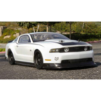 HPI 11 Ford Mustang Clear Sedan Body, 200mm-Requires Painting