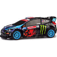HPI Ken Block WR8 Flux Rally Car With Ford Fiesta H.F.H.V. Body