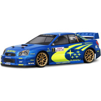 HPI 2004 Impreza Wrc Clear Sedan Body, 190mm