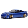 HPI Porsche 911 Turbo Clear Sedan Body-200mm, Requires Painting