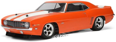 HPI 1969 Chevy Camaro Z28 Clear Vintage Body-Requires Painting