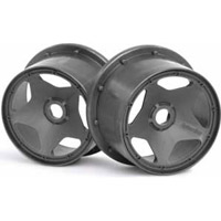 HPI Baja 5B Rear Super Star Rims, Gunmetal (2)