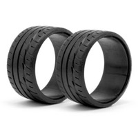 HPI LP29 Bridgestone Potenza RE-11 T-Drift Tires (2)