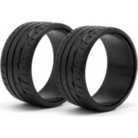 HPI LP32 Bridgestone Potenza RE-11 T-Drift Tires (2)