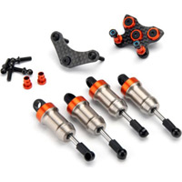 HPI Switch Shock Set, Aluminum (4)