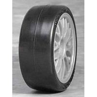 HPI Sedan Pro Belted Slick Tires, 26mm (2)