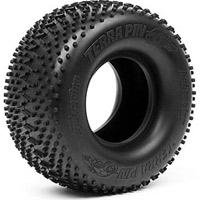 HPI Savage XL Terra Pin Tires, S-Compound (2)