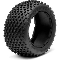 HPI Baja 5B Rear Dirt Buster Block Tires, HD Compound (2)