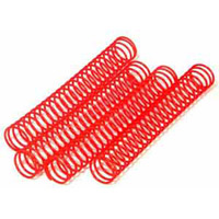HPI Savage Shock Springs-Red, Soft (25 Coils) (4)