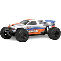 HPI Firestorm Dirt Force Clear Body-Requires Painting