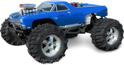 HPI El Camino Ss Clear Body For Savage 21 & T-Maxx