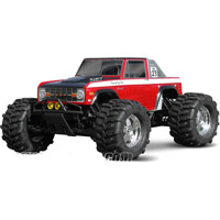 HPI 1973 Ford Bronco Clear Body For Savage And Maxx Trucks