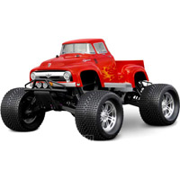HPI Maxx/Savage 1956 Ford F100 Clear Body, Requires Painting