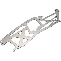 HPI Savage x Left Chassis Plate, Gray