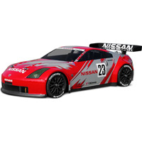 HPI Nissan 350z Nismo Gt Clear Body, 200mm-Requires Painting