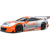 HPI Toyota Supra Gt Clear Sedan Body, 200mm-Requires Painting