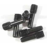 HPI Savage XS/Blitz Screw Shafts, Black (4 x 2 x 12mm) (6)