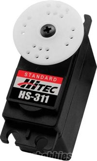 Hitec Servo-Hs-311 Standard; 51 Oz/In At .15 Sec.