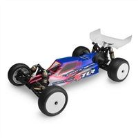 J Concepts TLR 22 2.0 MM Clear Body with Wings, Requires Painting