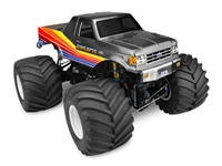 J Concepts 89 Ford F-250 Monster Truck Clear Body, requires painting