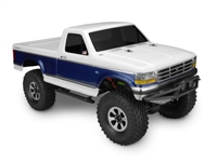 J Concepts 93 Ford F-250 Trail/Scaler Clear Body for crawlers, requires painting