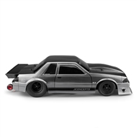 J Concepts 1991 Ford Mustang Fox Clear Body for Short Course Trucks