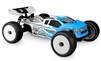 J Concepts Finnisher HB Racing D817T Clear Body, requires painting